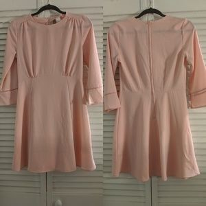 H&M Divided Pink Bell Sleeve Dress